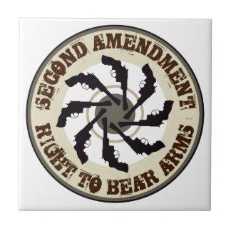 Segunda enmienda azulejos