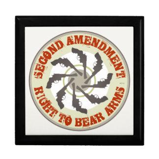 Segunda enmienda caja de recuerdo