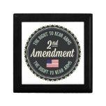 Segunda enmienda cajas de recuerdo