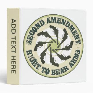 """Segunda enmienda carpeta 1 1/2"""""""