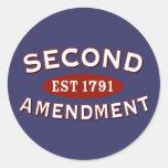 Segunda enmienda Est 1791 Etiquetas