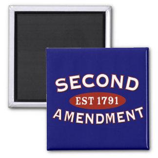 Segunda enmienda Est. 1791 Imán De Nevera