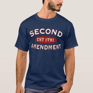 Segunda enmienda Est. 1791 Playera