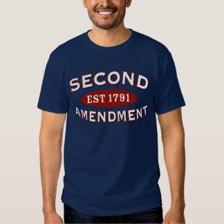 Segunda enmienda Est. 1791 Polera