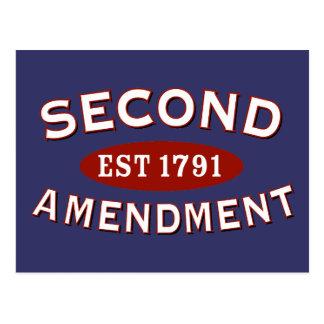 Segunda enmienda Est 1791 Postales