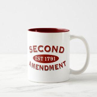 Segunda enmienda Est 1791 Taza De Café