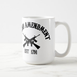 Segunda enmienda Est. 1791 Taza De Café