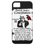 ¡Segunda enmienda! Funda Para iPhone 5 Barely There