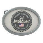 Segunda enmienda hebilla de cinturon