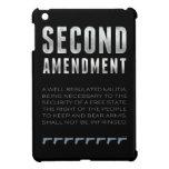 Segunda enmienda iPad mini carcasas