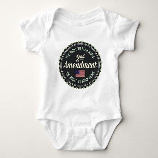 Segunda enmienda mameluco de bebé