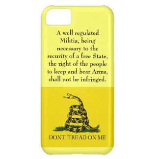 Segunda enmienda - no pise en mí funda para iPhone 5C