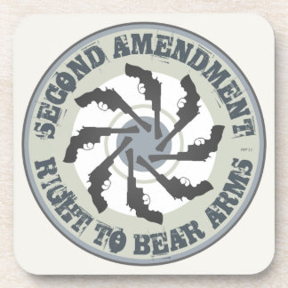 Segunda enmienda posavasos