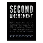 Segunda enmienda postal