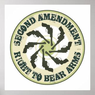 Segunda enmienda póster