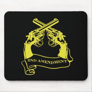 segunda enmienda alfombrillas de ratón