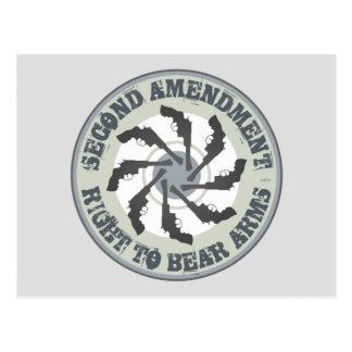 Segunda enmienda postales