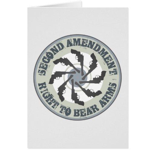 Segunda enmienda tarjetas
