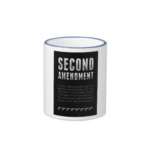 Segunda enmienda taza a dos colores