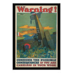 Segunda Guerra Mundial amonestadora