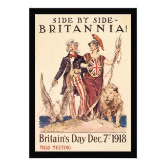Segunda Guerra Mundial de Britannia Anuncios Personalizados