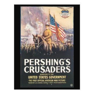 "Segunda Guerra Mundial de los cruzados de Folleto 8.5"" X 11"""