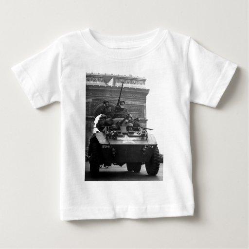 Segunda Guerra Mundial del coche de explorador Playera