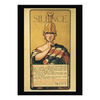 Segunda Guerra Mundial del silencio Invitación Personalizada