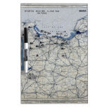 Segunda Guerra Mundial día D mapa 6 de junio de 19 Pizarra