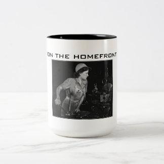 Segunda Guerra Mundial - en la taza de la bebida d