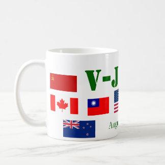 Segunda Guerra Mundial *, taza de V-JDay