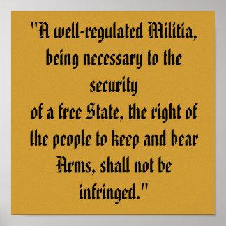 Segunda impresión de la enmienda