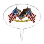 Segunda libertad Eagle de la enmienda Decoración Para Tarta