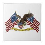 Segunda libertad Eagle de la enmienda Teja Ceramica