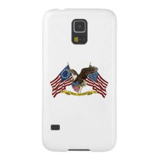 Segunda libertad Eagle de la enmienda Funda Para Galaxy S5