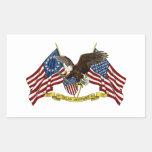 Segunda libertad Eagle de la enmienda Rectangular Altavoz