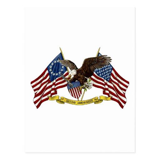 Segunda libertad Eagle de la enmienda Postal