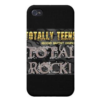 Segunda mercancía calificada totalmente adolescent iPhone 4 carcasas