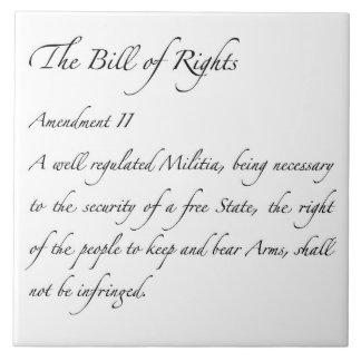 Segunda teja de la enmienda