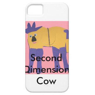 Segunda vaca de la dimensión iPhone 5 carcasas