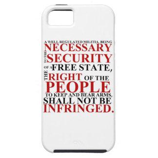 segundo caja del teléfono de la enmienda del iPhone 5 fundas