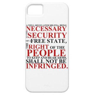 segundo caso de la enmienda del iPhone 5 iPhone 5 Fundas
