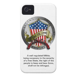 Segundo caso del iPhone del arsenal de la enmienda iPhone 4 Coberturas