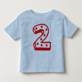 Segundo cumpleaños feliz t-shirts