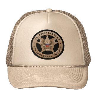 Segundo gorra de la seguridad de la enmienda