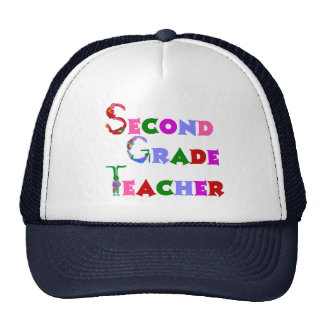 Segundo gorra del profesor del grado