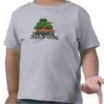 Segundo grado, rana camisetas