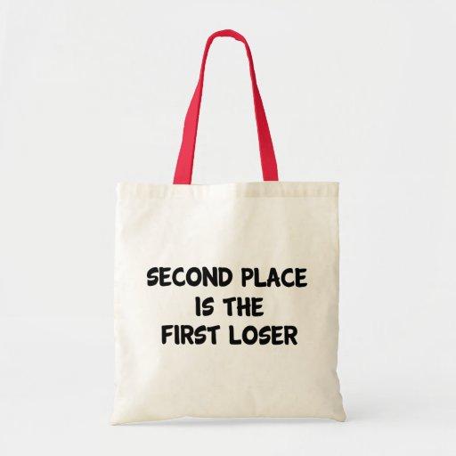 Segundo lugar bolsa tela barata
