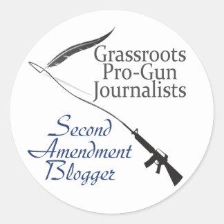 Segundo pegatina del Blogger de la enmienda