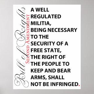 Segundo poster de la enmienda póster